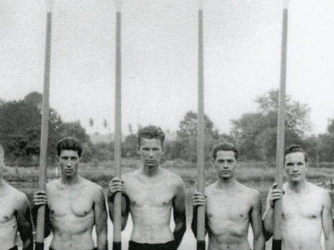 1936 Olympics: University of Washington wins Gold.