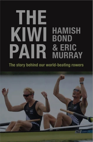 The Kiwi Pair book, an awesome quote about being an exceptional rower.